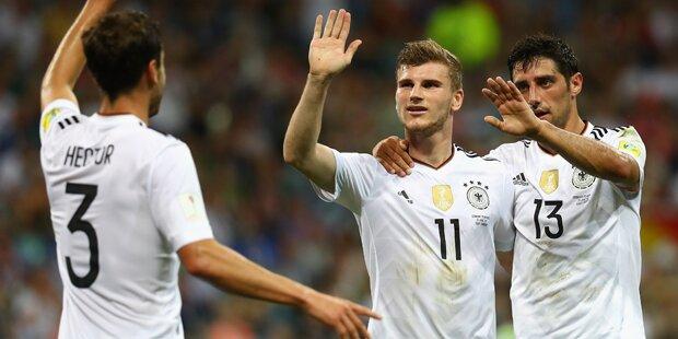 4:1 - DFB-Elf zaubert sich ins Finale