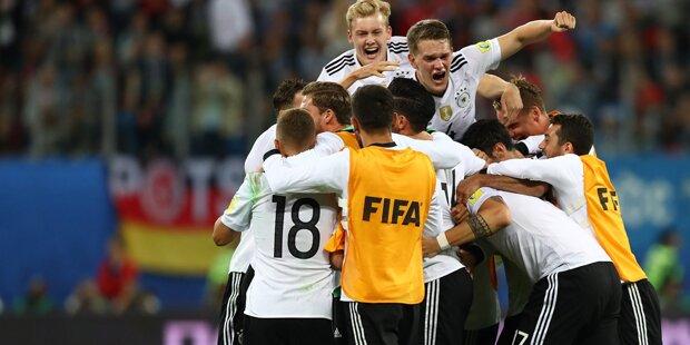 Deutschland gewinnt gegen Chile