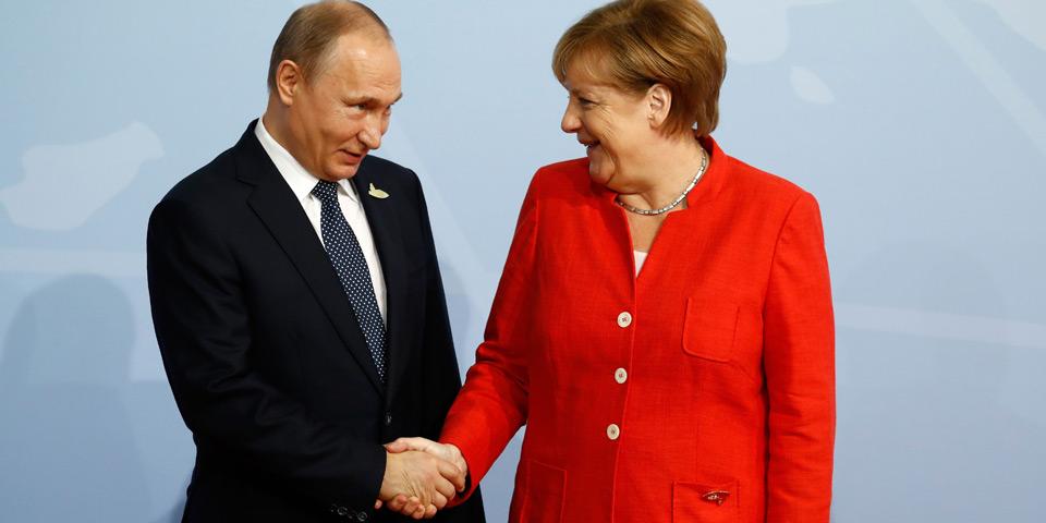 G20 Merkel Putin