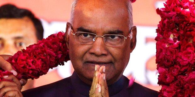 Indien: Kovind wird neues Staatsoberhaupt