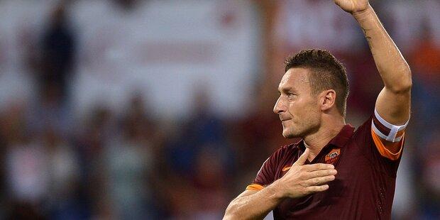 Fußball-Legende Francesco Totti beendete Karriere