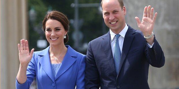 Wann zeigen Kate & William ihr Baby?