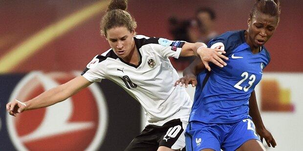 Sensationell: ÖFB-Girls schaffen 1:1 gegen Frankreich
