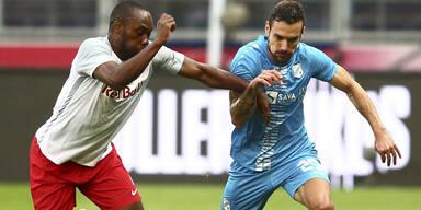 Salzburg schafft nur 1:1