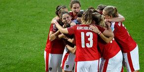 Historisch: Wunder-Girls im EM-Viertelfinale