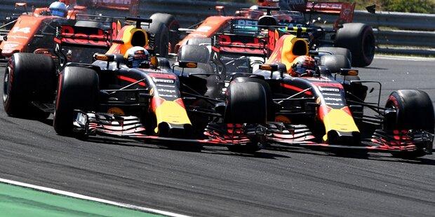 Eklat: Ricciardo attackiert Verstappen