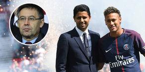 Barca-Präsident tritt gegen Neymar nach