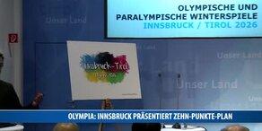 Olympia: Innsbruck präsentiert Zehn Punkte Plan