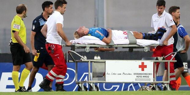Horror-Verletzung schockt Erste Liga
