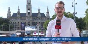 Wien ist lebenswerteste Stadt Europas