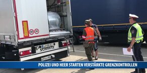 Polizei und Heer starten verstärkte Grenzkontrollen