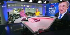 Richard Lugner im großen oe24.TV-Talk