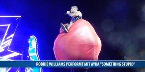 Robbies Liebes-Show mit Ayda