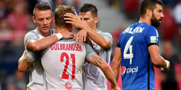 FC Salzburg zieht in die Gruppenphase ein!