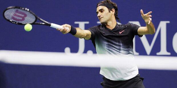 Roger Federer will zuschlagen