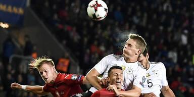 Deutschland behielt in WM-Quali mit Mühe weiße Weste