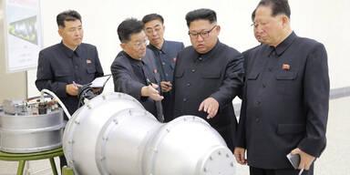 Nordkorea Kim Jong-un Wasserstoffbombe