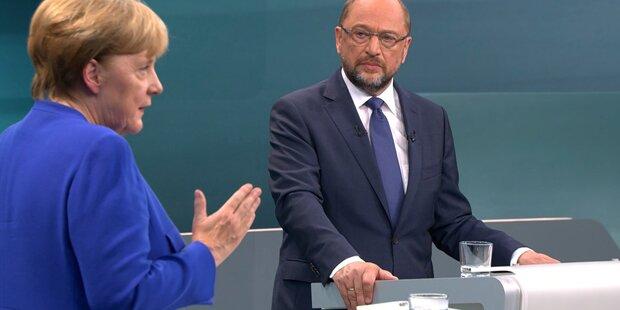 Schulz fordert Merkel zu 2. TV-Duell heraus