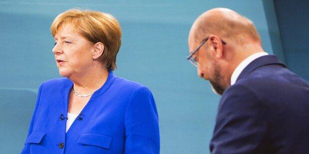 Schulz: 'Merkel macht Schlaftablettenpolitik'