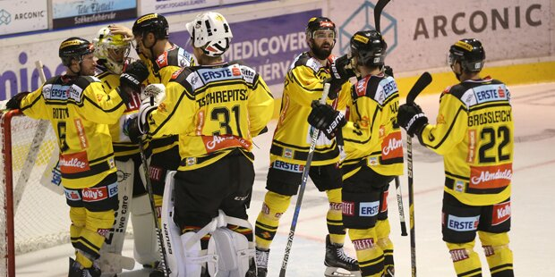 Caps nach Sieg gegen Graz an Tabellenspitze