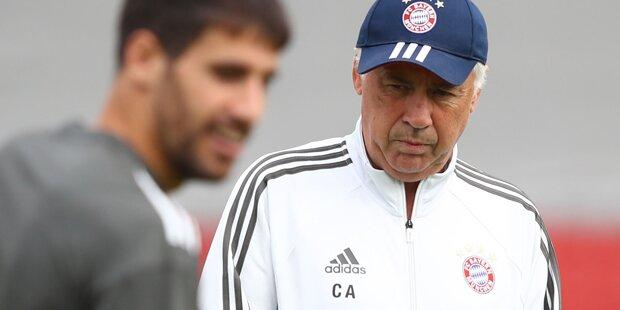 Ärzte-Disput: Carlo Ancelotti ist sauer