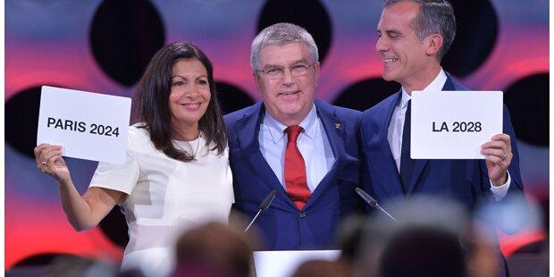 Olympia: Paris und L.A. bekommen Spiele