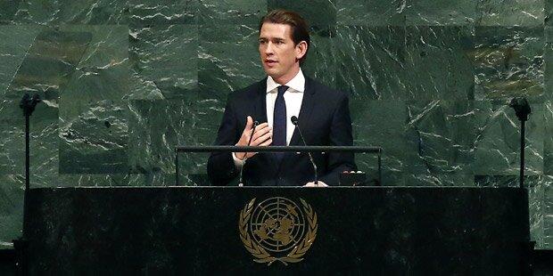 Kurz warnt bei UNO vor Atomkrieg