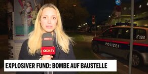 Fliegerbombe in Wien-Liesing gefunden