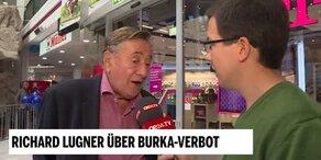 Richard Lugner über Burka-Verbot