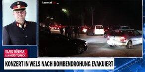 Konzert in Wels nach Bombendrohung evakuiert