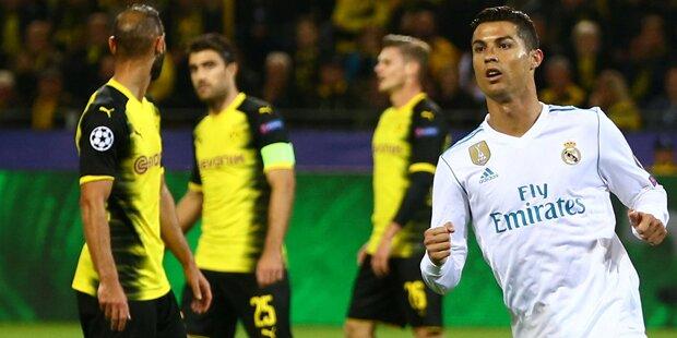 3:1 für Real: Ronaldo schießt BVB ab
