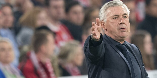 Hammer-Gerüchte um Carlo Ancelotti