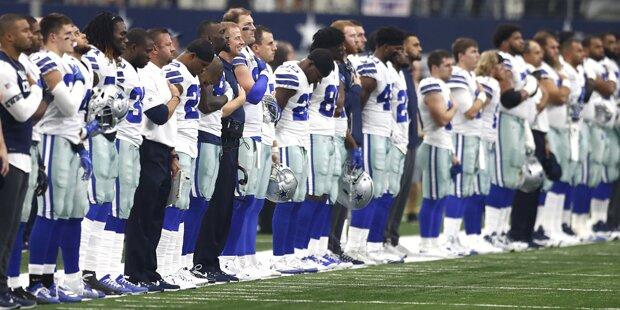 Hymnen-Protest: Neuer Eklat in der NFL
