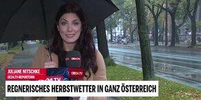 Regnerisches Herbstwetter in ganz Österreich