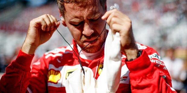 Schock-Aus: Vettel mit Frust-Interview
