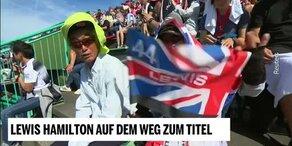 Lewis Hamilton auf dem Weg zum Titel