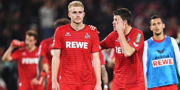 Stögers Kölner auch nach 8. Spiel noch sieglos