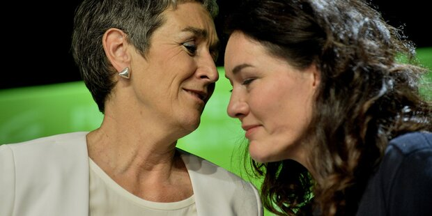 Köpferollen bei Grünen: Lunacek & Felipe gehen