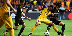 Dortmund-Blamage und Leipzig-Sieg