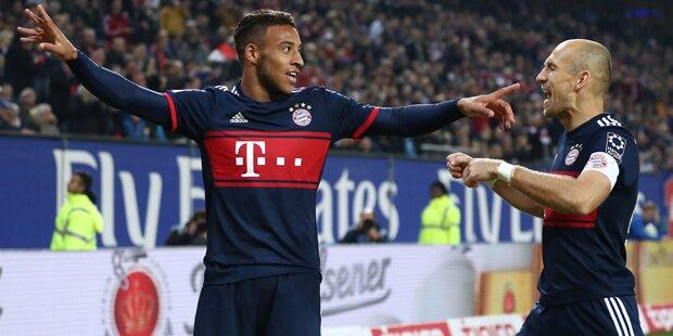 1:0 - Bayern wackelt zum Sieg beim HSV
