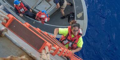 Jennifer Appel und Tasha Fuiava Seglerinnen gerettet