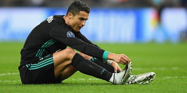 Ronaldo schießt gegen Real-Chefetage