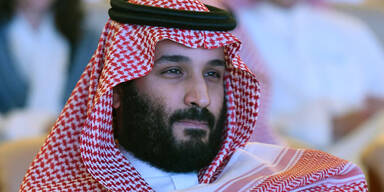 Saudi Arabien Kronprinz Mohammed bin Salman