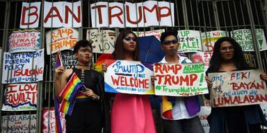 Trump Proteste Philippinen