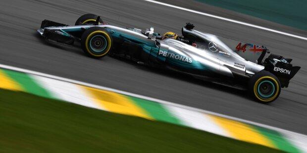 Hamilton crasht - Bottas holt Pole