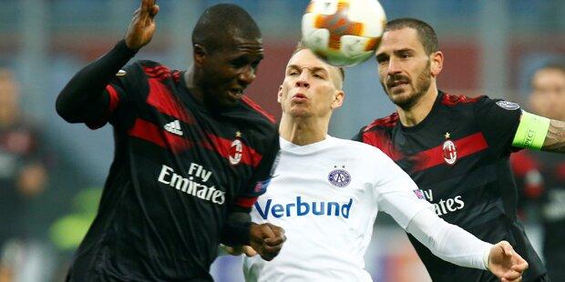 1:5 - Austria geht beim AC Milan unter