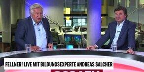 Andreas Salcher bei Fellner! Live