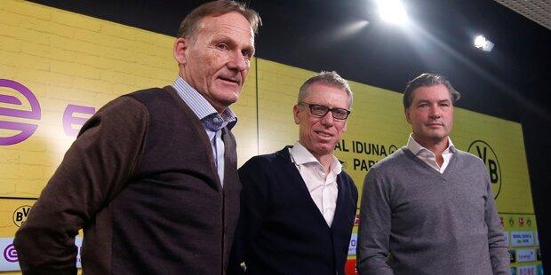 Stöger ist neuer BVB-Trainer