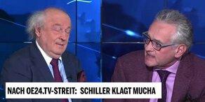 Schiller klagt Mucha nach oe24.TV-Streit