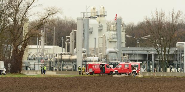 Explosion einer Gasstation in NÖ